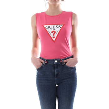 Biancheria Intima Donna Body Guess W1GP36 J1211-G505 rosa