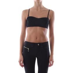 Abbigliamento Donna Top / T-shirt senza maniche Pieces 17091730 PCTESS BRA-BLACK nero