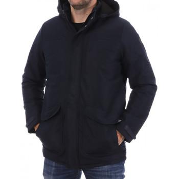 Abbigliamento Uomo Cappotti TBS JEFERVES Blu