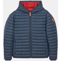 Abbigliamento Unisex bambino Piumini Save The Duck J30650B GIGA12 - DONY-90002 OMBRE BLUE blu