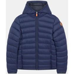 Abbigliamento Unisex bambino Giubbotti Save The Duck J30650B GIGA13 - DONNY-90010 BLUE BLACK blu