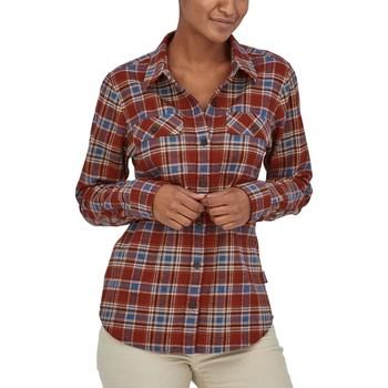 Abbigliamento Donna Camicie Patagonia 42405-IFFR Rosso