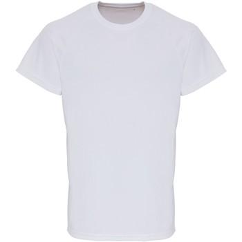 Abbigliamento Uomo T-shirt maniche corte Tridri TR014 Bianco