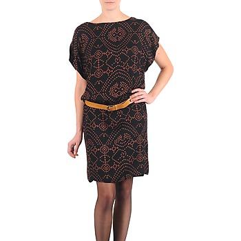 Abbigliamento Donna Abiti corti Antik Batik QUINN Nero