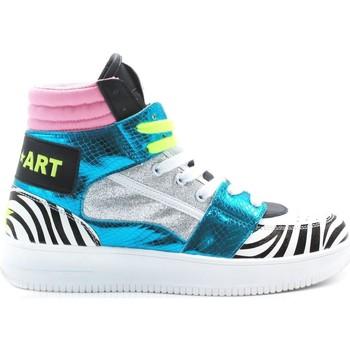 Scarpe Donna Sneakers alte Shop-Art SA80245 Multicolore