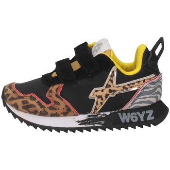 Scarpe Bambina Sneakers basse W6yz JET VL-J Sneakers Bambina LEOPARD/NYLON LEOPARD/NYLON