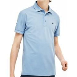 Abbigliamento Uomo Polo maniche corte Lacoste L1212003H7 Celeste