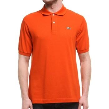 Abbigliamento Uomo Polo maniche corte Lacoste L1212WU9 Arancione
