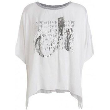 Abbigliamento Donna T-shirt maniche corte Deha D43333 Bianco