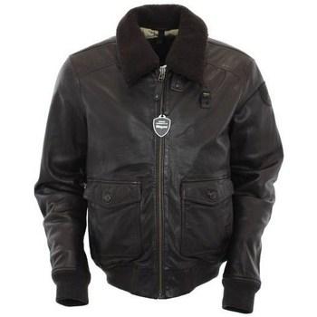 Abbigliamento Uomo Giacche Blauer BLUL01285370 Marrone