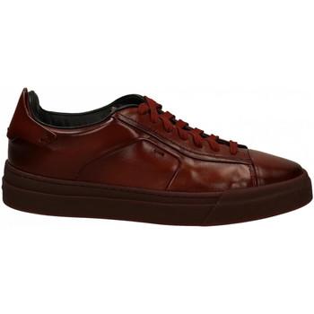 Scarpe Uomo Sneakers basse Santoni DERBY 7F brown