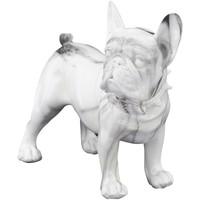 Casa Statuette e figurine Signes Grimalt Frange Bulldog Figura Blanco
