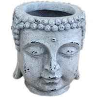 Casa Vasi, fioriere Signes Grimalt Figura Buda. Blanco