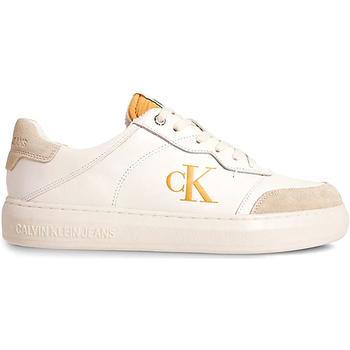 Scarpe Uomo Sneakers basse Calvin Klein Jeans YM0YM00283 Beige