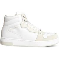 Scarpe Uomo Sneakers alte Calvin Klein Jeans YM0YM00287 Bianco