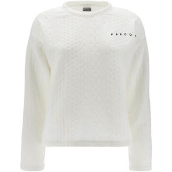 Abbigliamento Donna Felpe Freddy F1WSLS11 Bianco