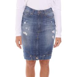 Abbigliamento Donna Gonne Y Not? Y17AI117 Blu