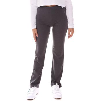 Abbigliamento Donna Pantaloni morbidi / Pantaloni alla zuava Key Up LI20 0001 Grigio