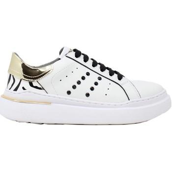 Scarpe Donna Sneakers basse Keys K-5580 Bianco