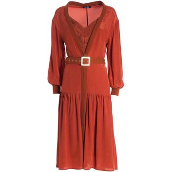 Abbigliamento Donna Abiti lunghi Fracomina F321WD2004W41801 Arancio