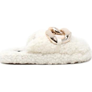 Scarpe Donna Pantofole Gold&gold B21 FL159 Bianco