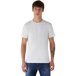 Abbigliamento Uomo T-shirt maniche corte Trussardi 52T00535-1T003077 Bianco