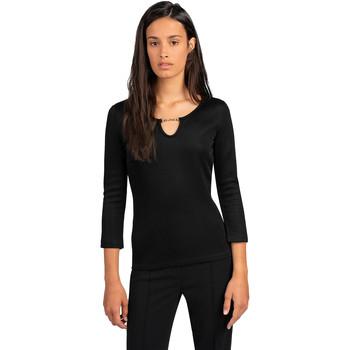 Abbigliamento Donna Top / Blusa Trussardi 56T00394-1T005339 Nero