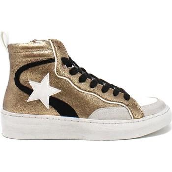 Scarpe Donna Sneakers alte Gold&gold B21 GB159 Marrone