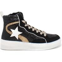 Scarpe Donna Sneakers alte Gold&gold B21 GB159 Nero