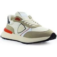Scarpe Uomo Sneakers basse Philippe Model ATLU WP02 - ANTIBES-BEIGE/RED beige