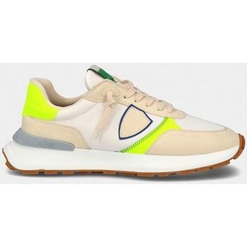 Scarpe Uomo Sneakers basse Philippe Model ATLU WP04 - ANTIBES-BLANC JAUNE bianco