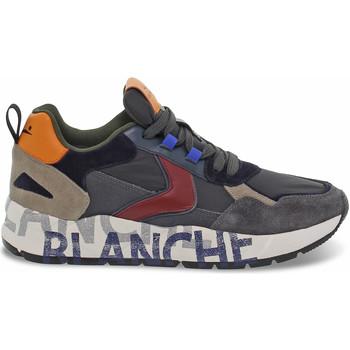 Scarpe Uomo Sneakers basse Voile Blanche Sneakers  CLUB16 in camoscio e nylon grigio e blu grigio,blu