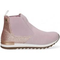 Scarpe Bambina Sneakers alte Bubble 58893 viola