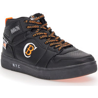 Scarpe Uomo Sneakers alte Cotton Belt KARIM NERO