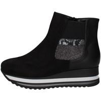 Scarpe Donna Sneakers alte Comart 2A3746 NERO