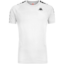 Abbigliamento Uomo T-shirt & Polo Kappa A99/NERO Bianco