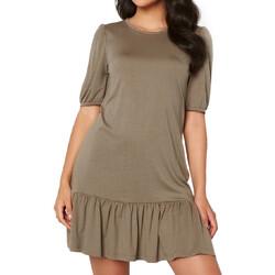 Abbigliamento Donna Abiti corti Jacqueline De Yong 15228769 Marrone