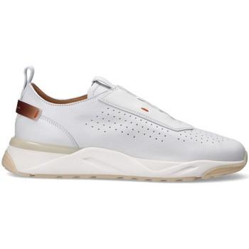 Scarpe Uomo Sneakers basse Santoni Sneakers  modello Innova BIANCO