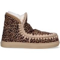 Scarpe Donna Stivali da neve Mou Eskimo Sneaker cav ghepardo beige BEIGE