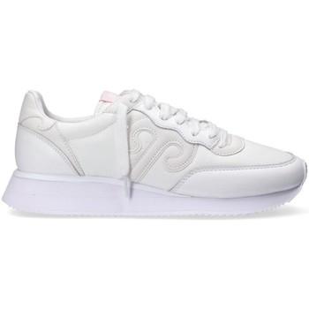 Scarpe Uomo Sneakers basse Wushu 7394092777646BIANCO BIANCO