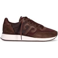 Scarpe Uomo Sneakers basse Wushu 7391411306670MARRONE MARRONE