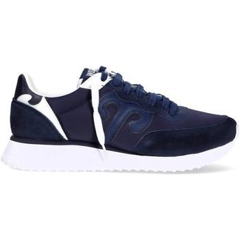 Scarpe Uomo Sneakers basse Wushu 7391410553006BLU BLU