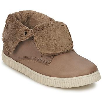 Scarpe Bambina Sneakers alte Chipie SABRINA Beige