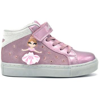 Scarpe Bambina Sneakers alte Lelli Kelly Mille Stelle sneaker Cipria