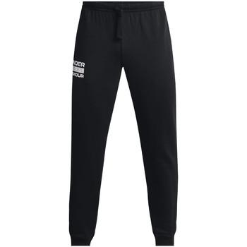 Abbigliamento Uomo Pantaloni da tuta Under Armour Rival Fleece Signature Joggers Noir