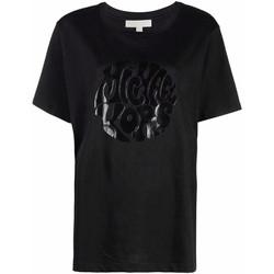Abbigliamento Donna T-shirt maniche corte MICHAEL Michael Kors  Nero