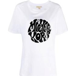Abbigliamento Donna T-shirt maniche corte MICHAEL Michael Kors  Bianco