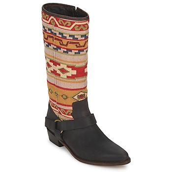 Scarpe Donna Stivali Sancho Boots CROSTA TIBUR GAVA Marrone/rosso
