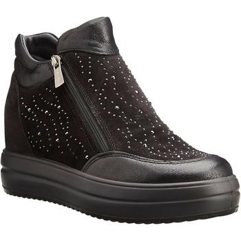 Scarpe Donna Sneakers alte IgI&CO 8158400 Nero