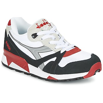 Scarpe Sneakers basse Diadora N9000  NYL Bianco / Nero / Rosso